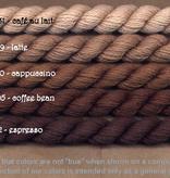 Fibers Silk and Ivory    COFFEE BEAN