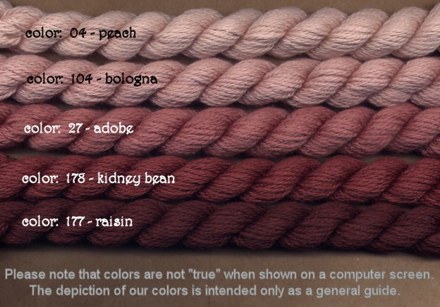 Fibers Silk and Ivory    RAISIN
