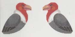 Canvas VULTURE CLIP-ON BIRD  506