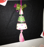 Canvas 3D POINSETTA TREE TOWER T6