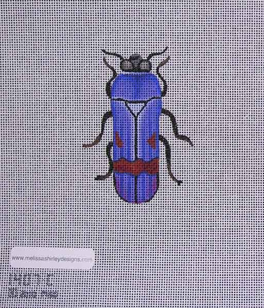 Canvas BEETLE  BLUE/RED 1407C