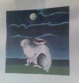 Canvas RABBIT 6X6  B171A