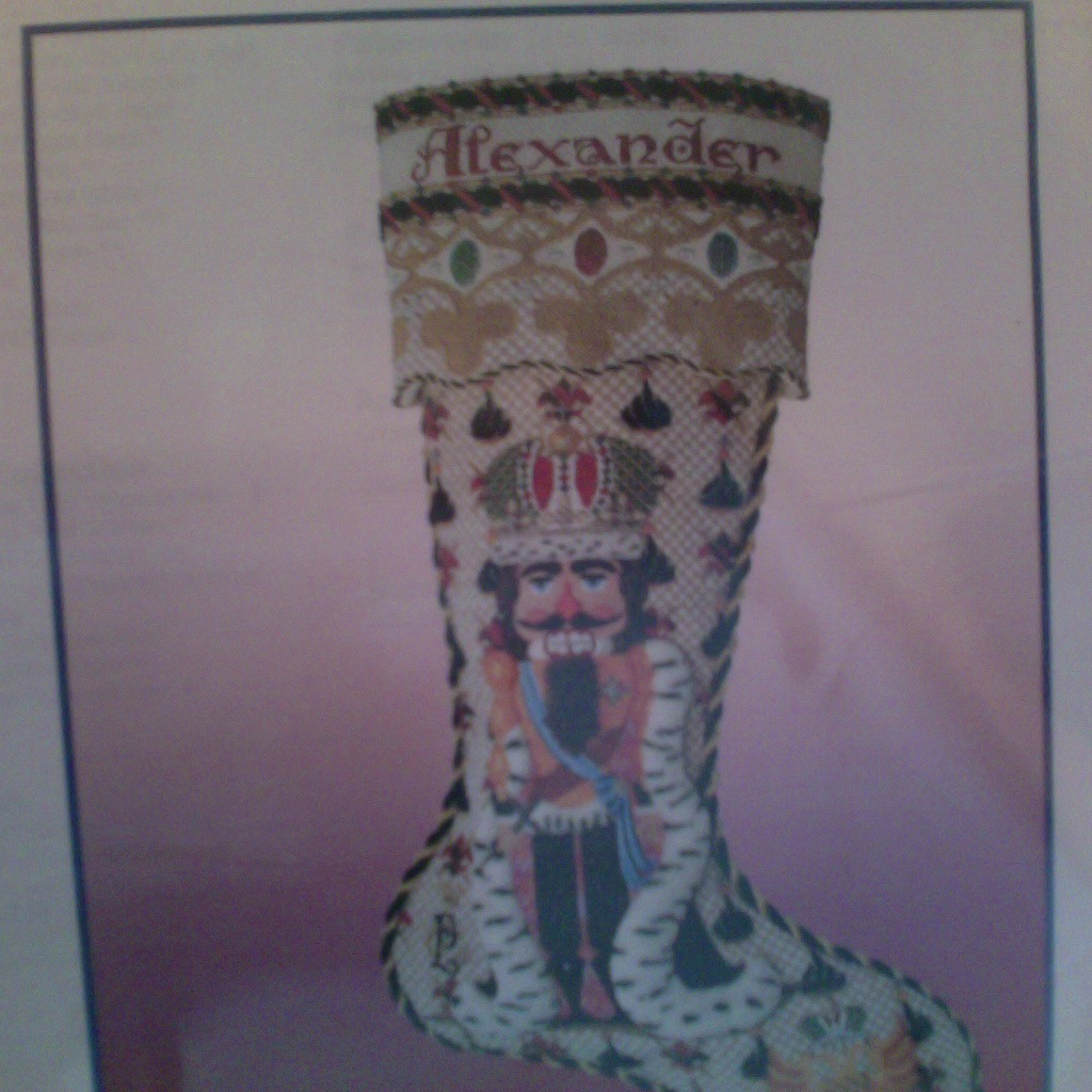 Canvas PETER THE GREAT STOCKING CCD1 WITH STITCH GUIDE