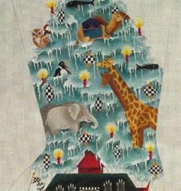 Canvas NOAH'S FROSTY MORNING  ED18016