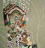 Canvas GINGERBREAD HOUSE  JK104