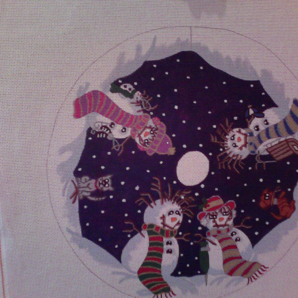 Canvas TWIGG FAMILY MINI TREE SKIRT TSM50