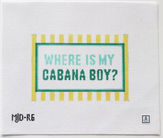 Canvas WHERE IS MY CABANA BOY  MJDR6
