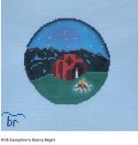 Canvas CAMPFIRE STARRY NIGHT  R18
