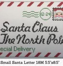 Canvas SANTA CLAUS LETTER - SMALL  SD031