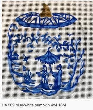 Canvases BLUE/WHITE PUMPKIN - PARASOL HA509