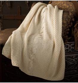 Yarn IRISH CABLE STROLLER BLANKET KIT