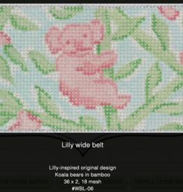 Canvases KOALA BEARS LILLY STYLE WIDE BELT WBL06