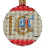 Canvas 12 DAYS BAUBLE - 10 LORDS  KB1187