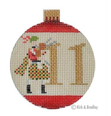 Canvas 12 DAYS BAUBLE - 11 PIPERS  KB1188