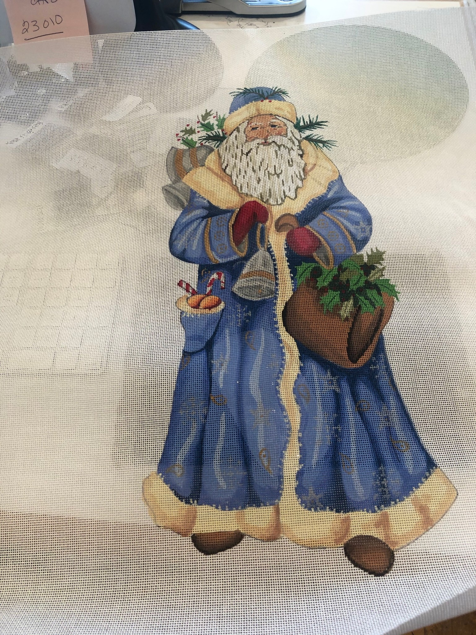 Canvas PERE NOEL IV - PILLOW STYLE  GE609