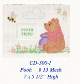 Canvas POOH TOOTH FAIRY PILLOW  CD300I