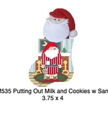 Canvas PUTTING OUT MILK AND COOKIES  CM535