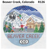 Canvas BEAVER CREEK TRAVEL ROUND  R126
