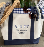 Accessories NEEDLPOINT THE SPORT OF QUEENS TOTE BAG