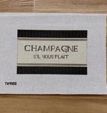 Canvas CHAMPAGNE S'IL VOUS PLAIT  TA4100