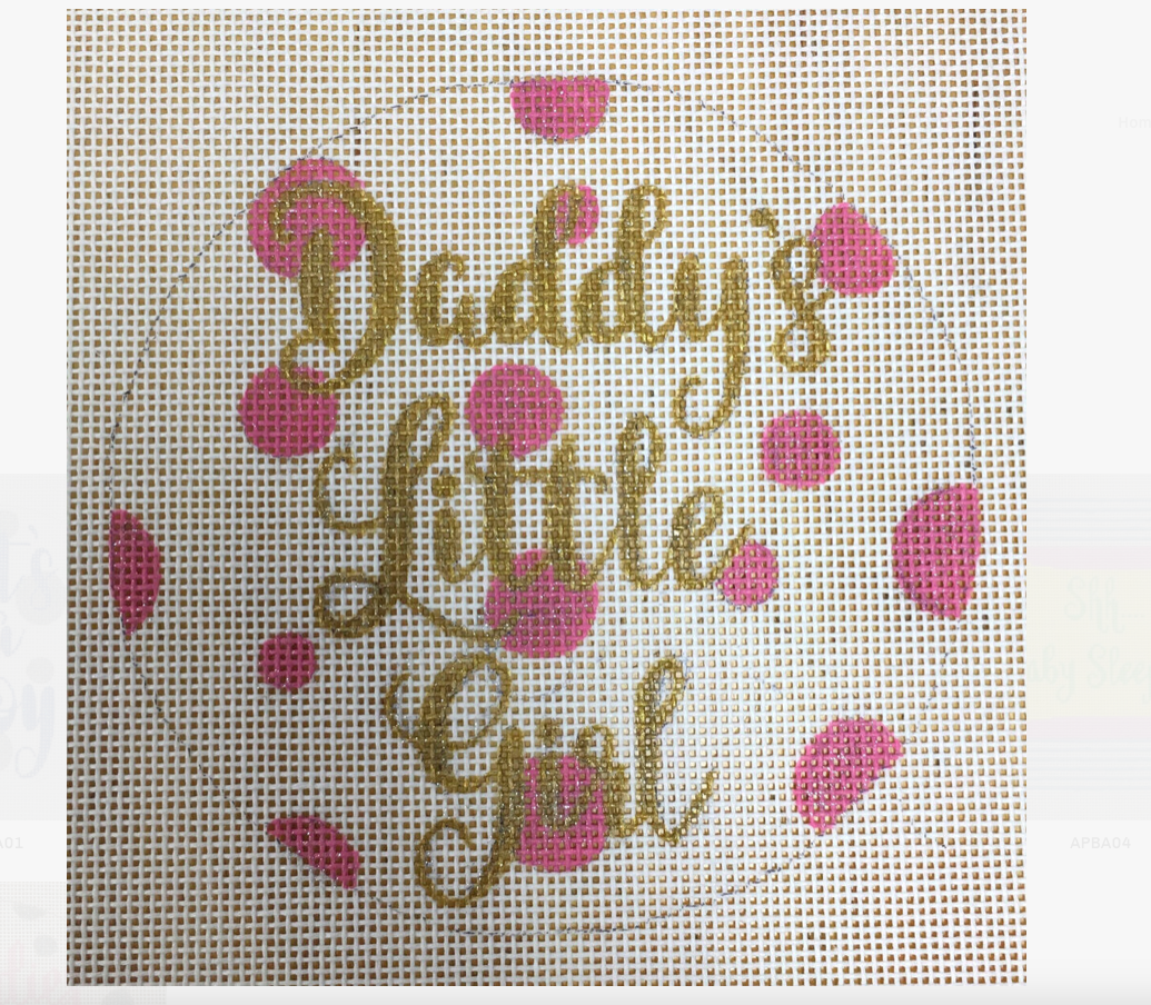 Canvas DADDY'S LITTLE GIRL  APBR03
