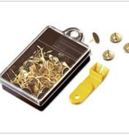 Accessories BRASS TACKS WITH REMOVER
