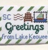 Canvas GREETINGS FROM LAKE KEOWEE  RD261