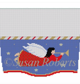 Canvas ANGEL FLYING TOPPER  3114