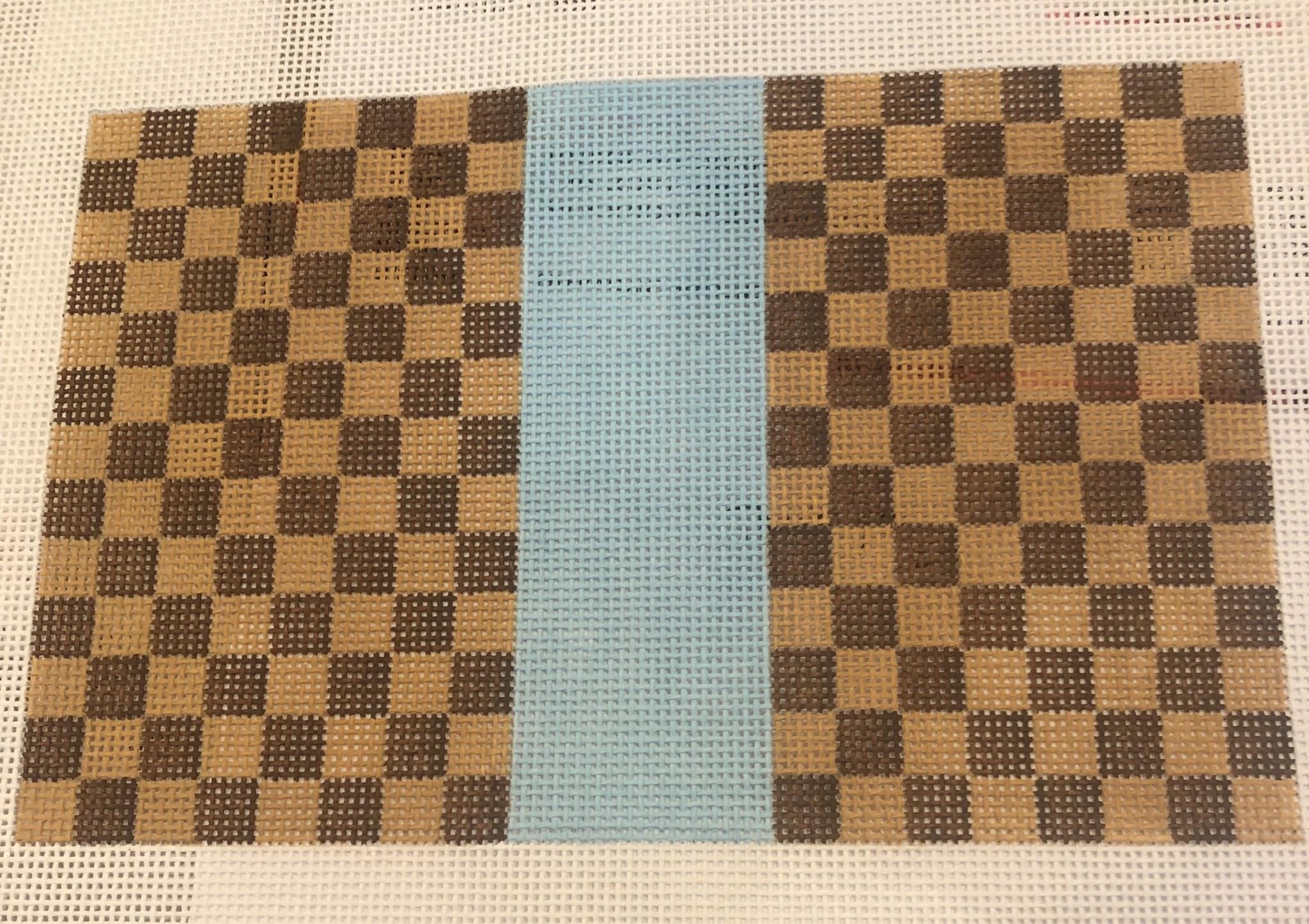 Canvas LOUIS SMALL FLAT - BLUE  SF06B
