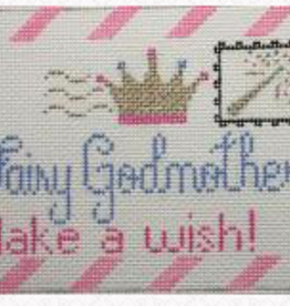 Canvas FAIRY GODMOTHER  LETTER PILLOW 300
