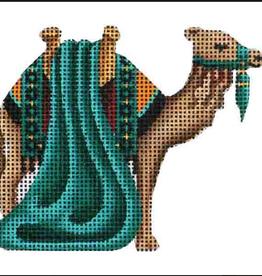 Canvas GREEN CAMEL - NATIVITY 627J