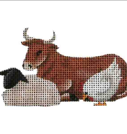 Canvas MANGER ANIMALS - NATIVITY 627K