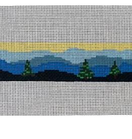 Canvas BLUE RIDGE MOUNTAIN RANGE  BELT  B11