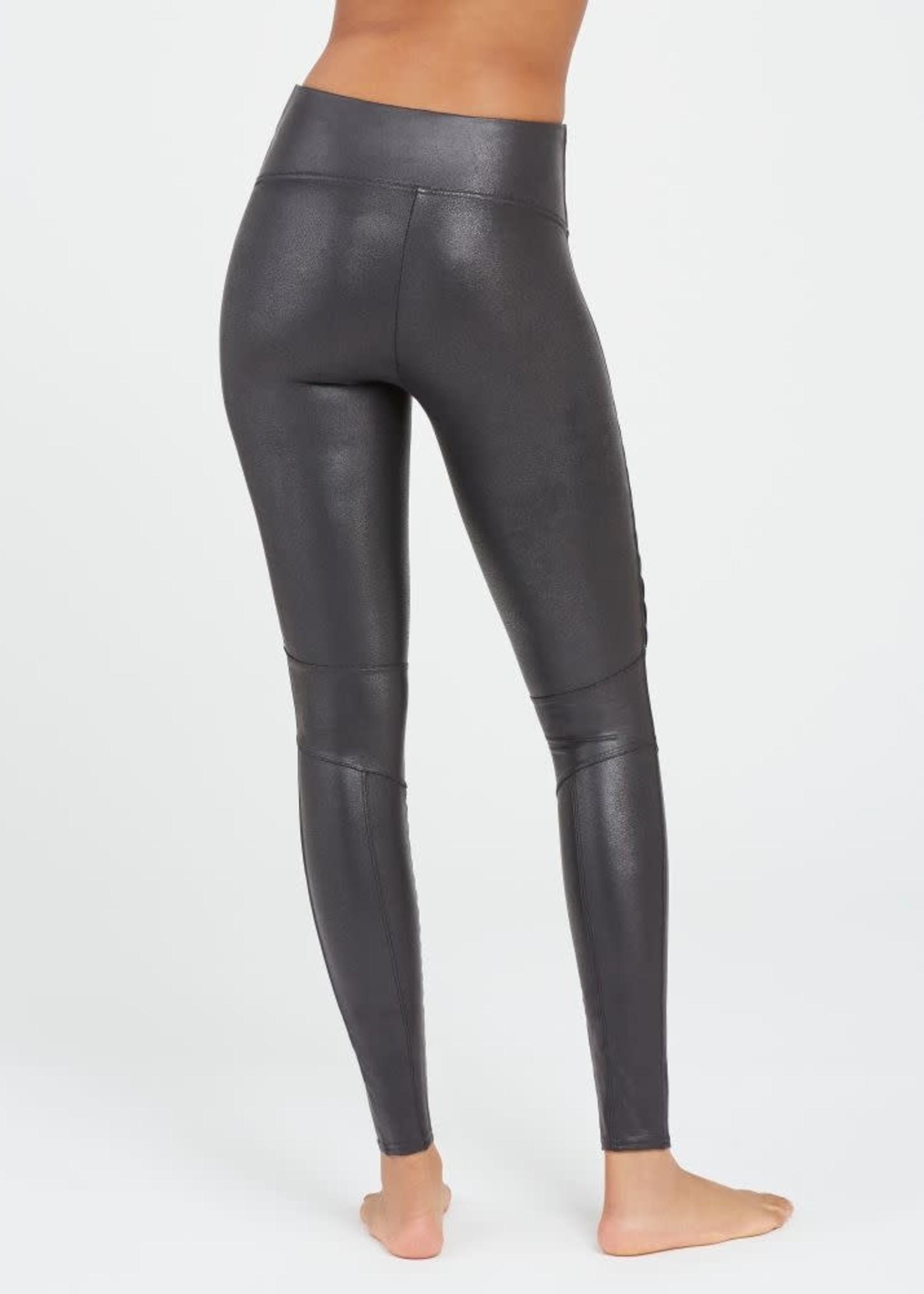 Faux Leather Moto Legging