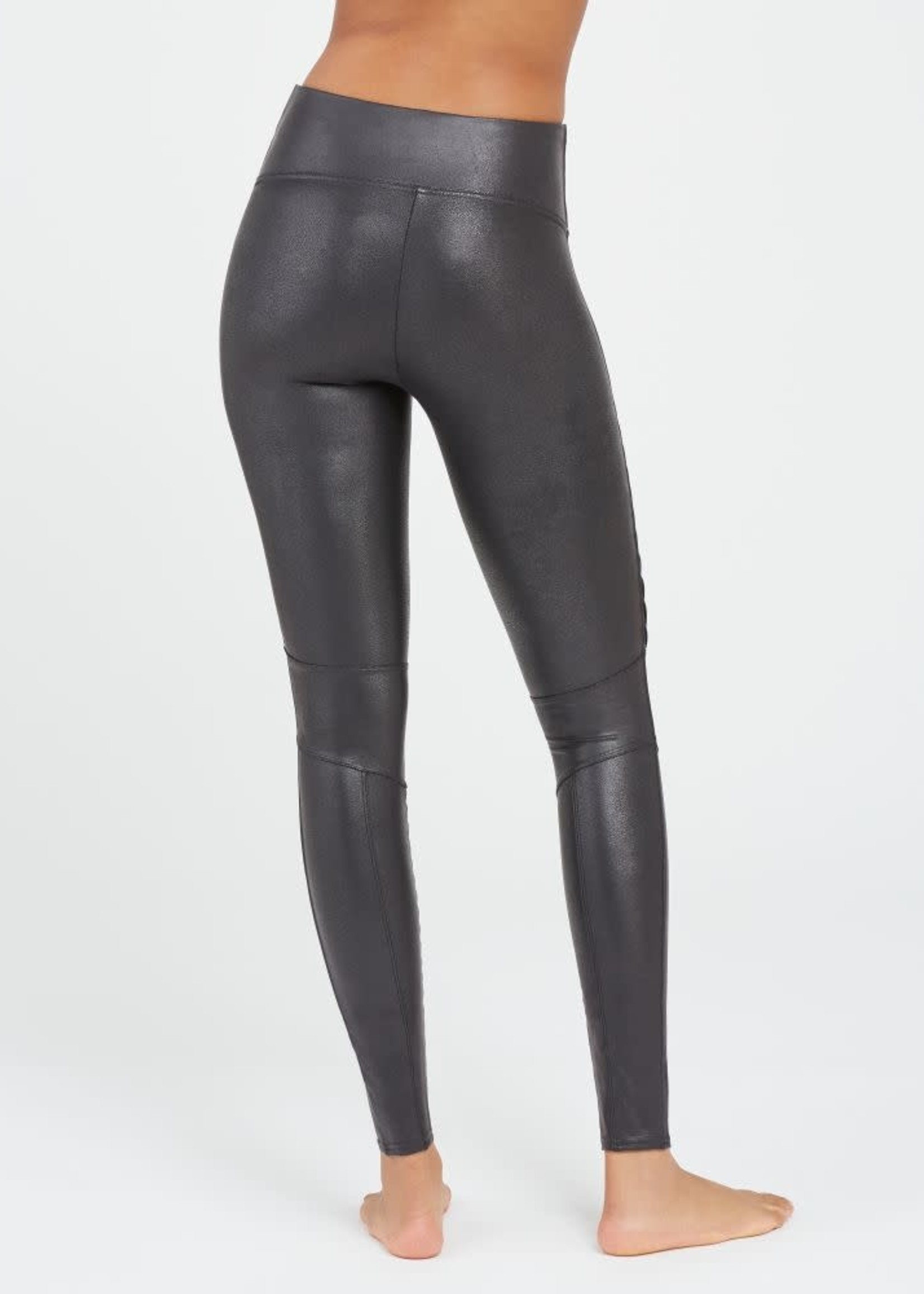 Spanx Faux Leather Moto Legging