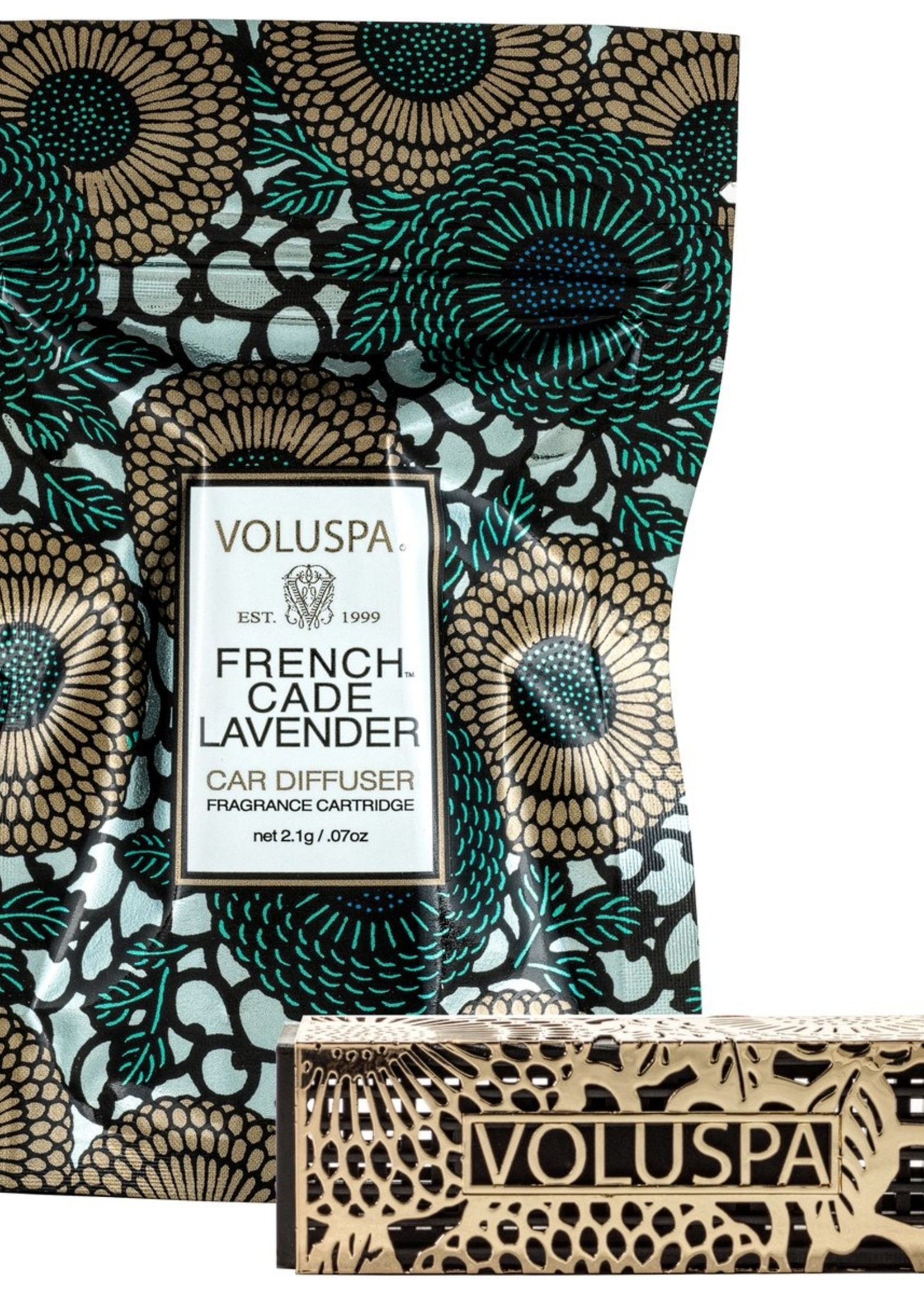 French Cade Lavender Travel Diffuser