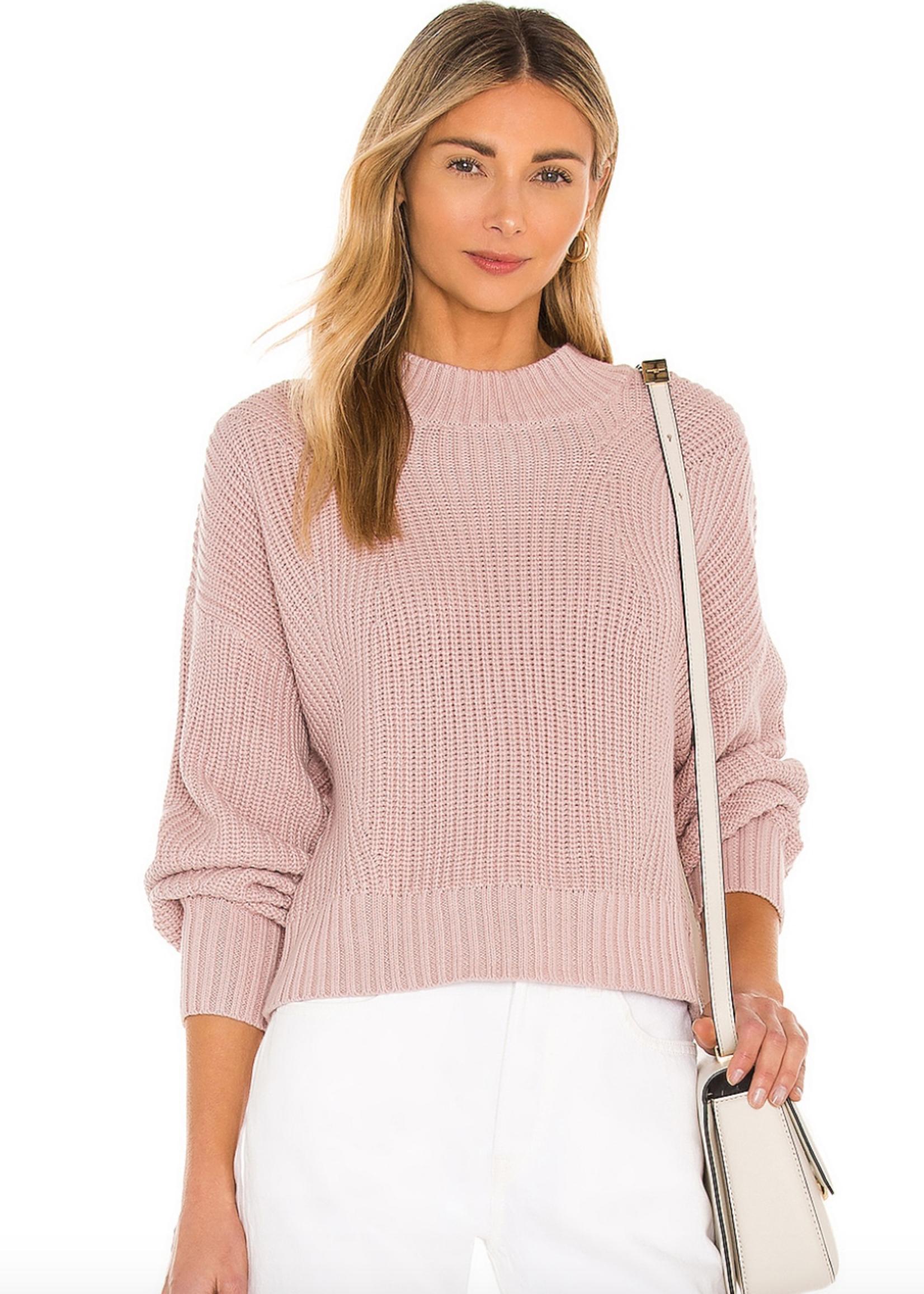 525 Mia Cropped Sweater Quartz