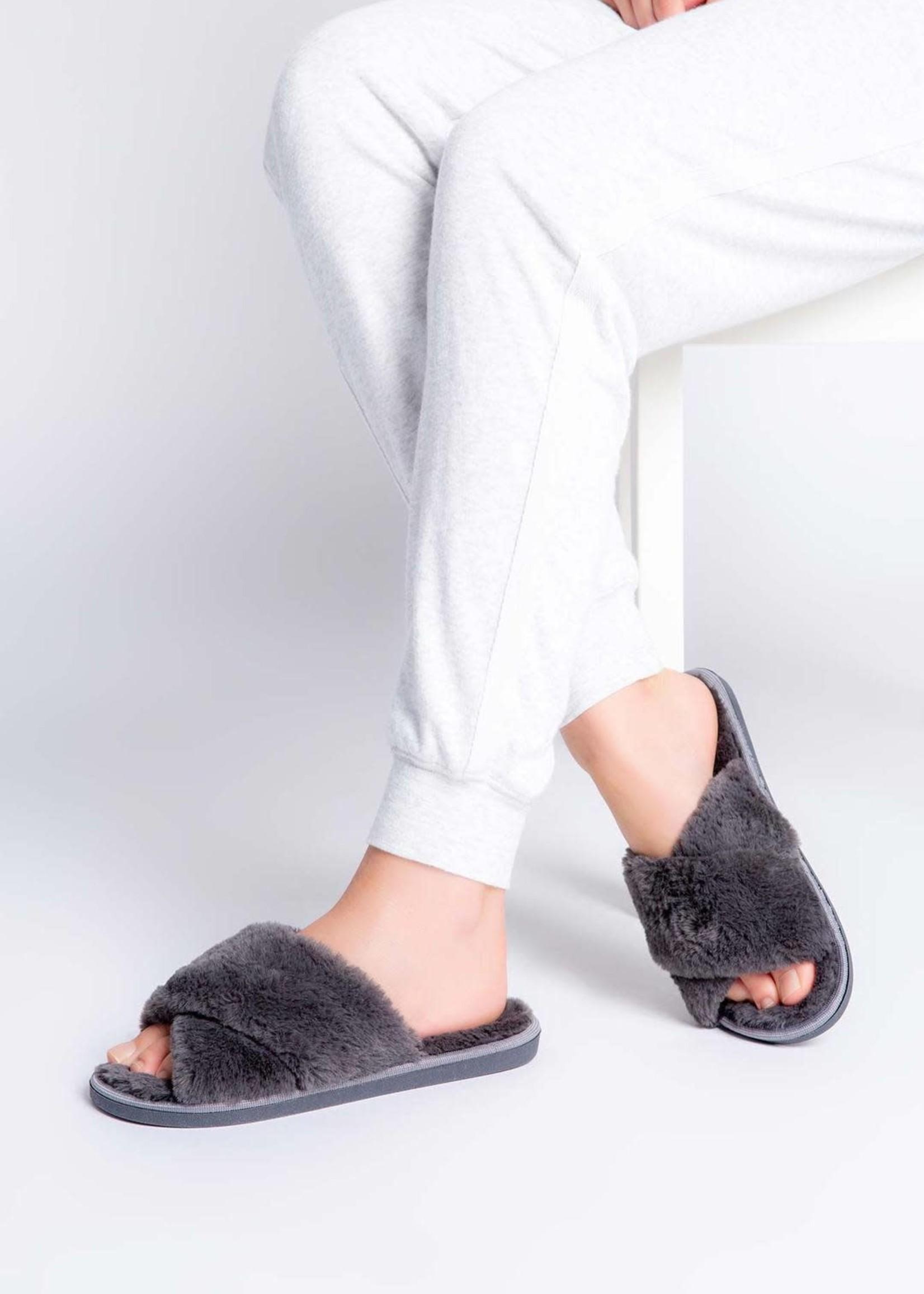Pj slippers-grey