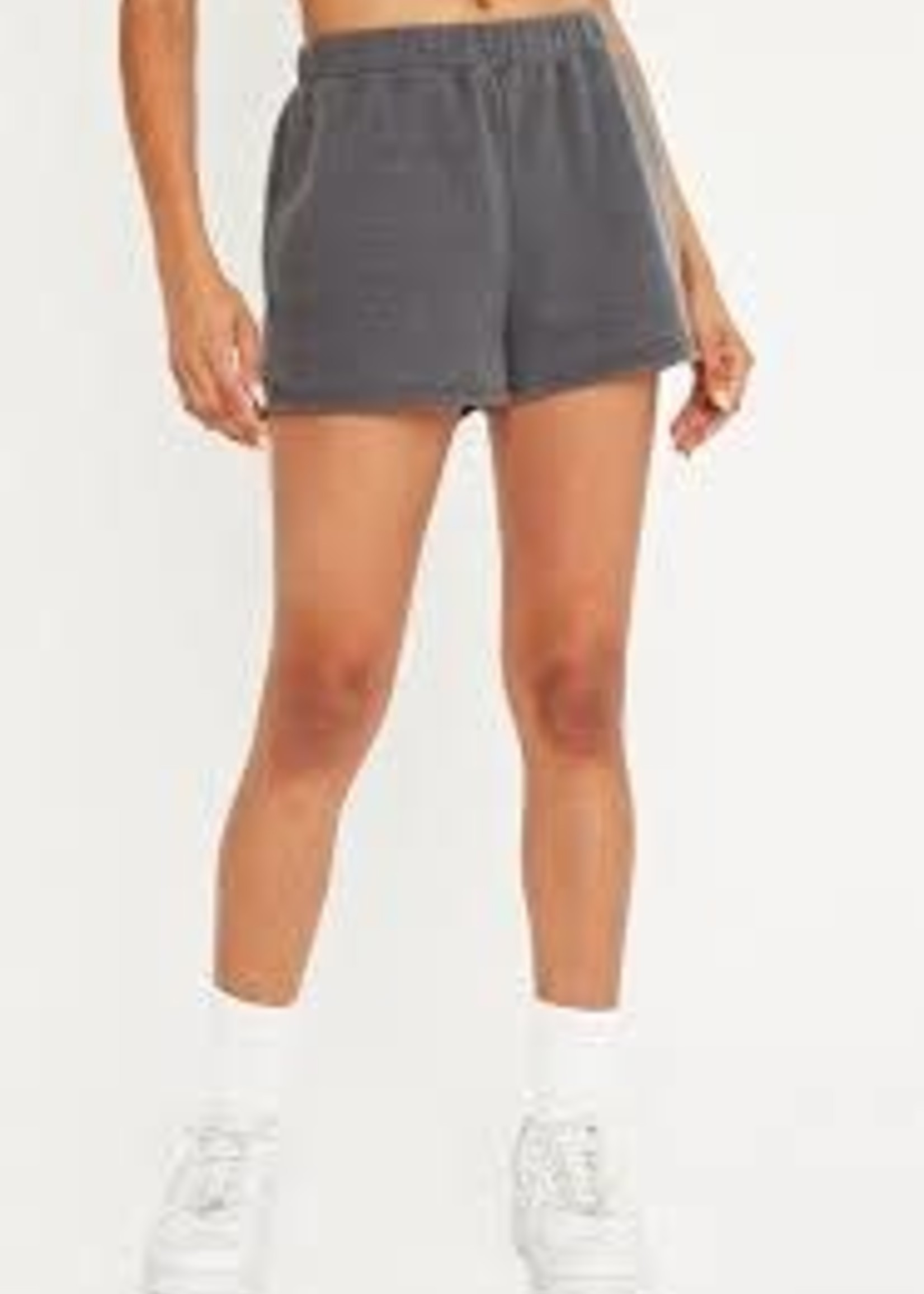 Plush Lounge Short Charcoal
