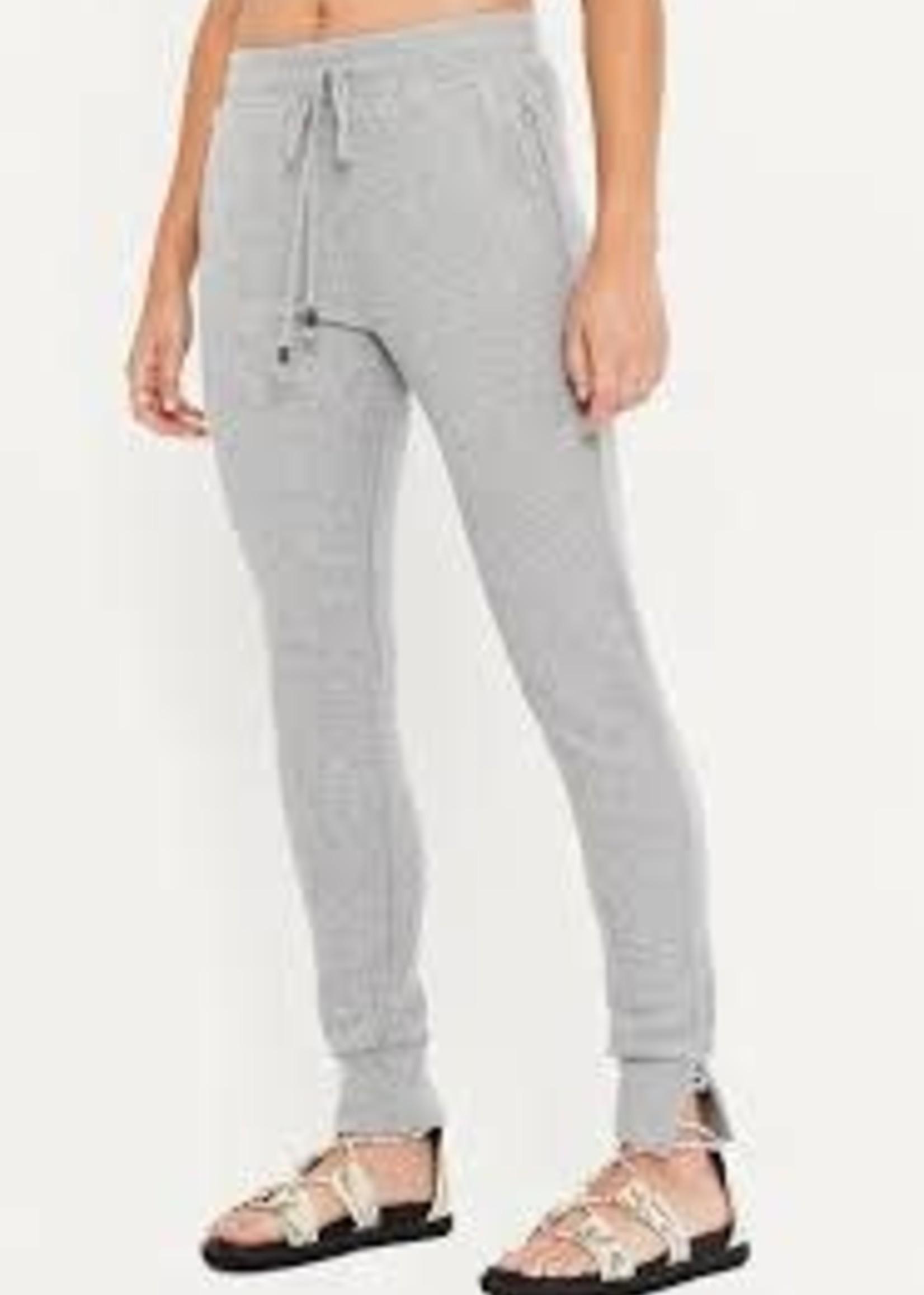 Merrow Edge Trim Pant Grey