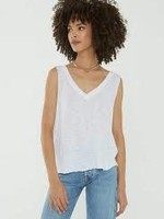 Project Social Tee See U Double V Tank White