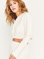 Twist Sweatshirt Ivory