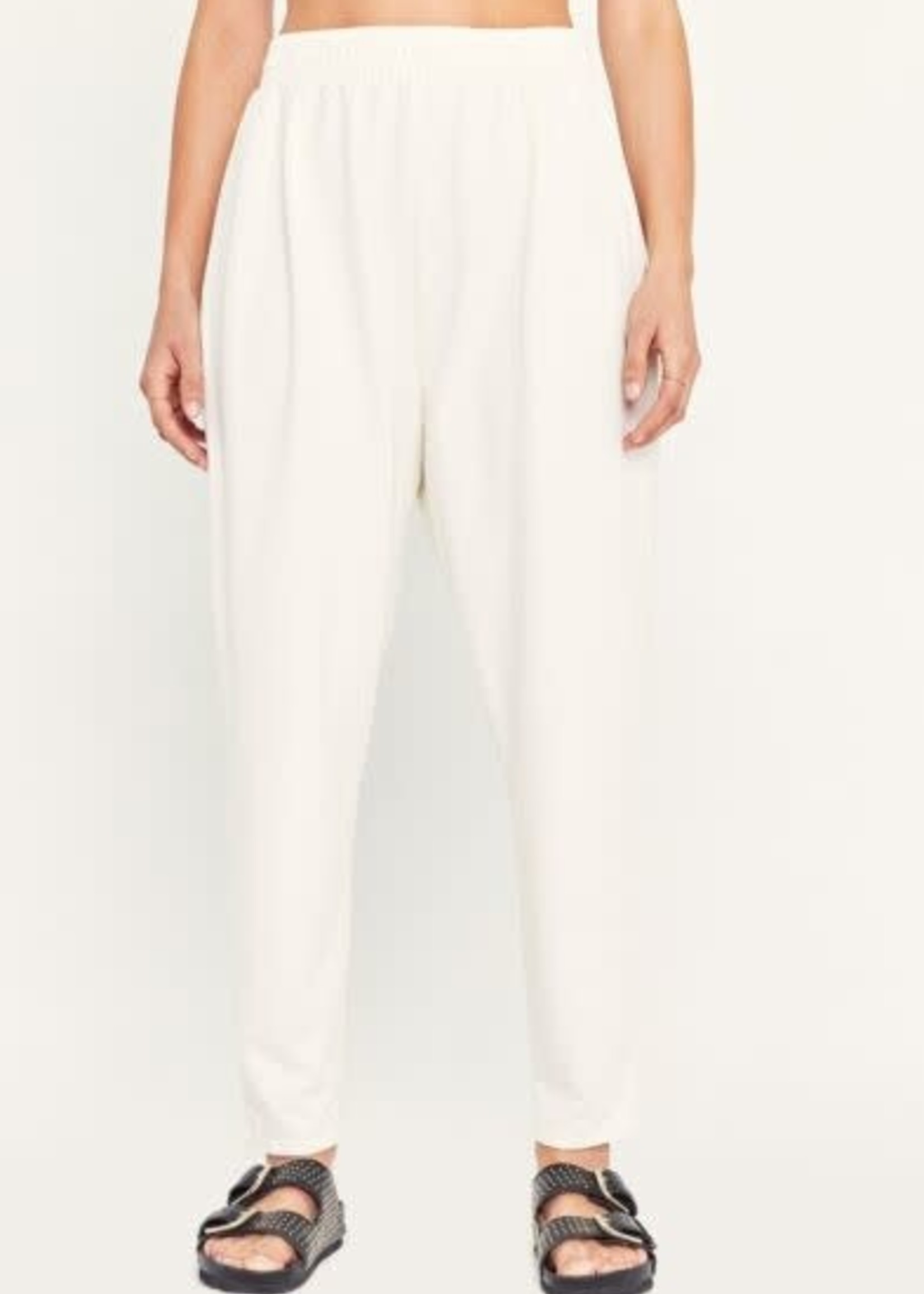 Project Social Tee Double Pleated Pant Ivory