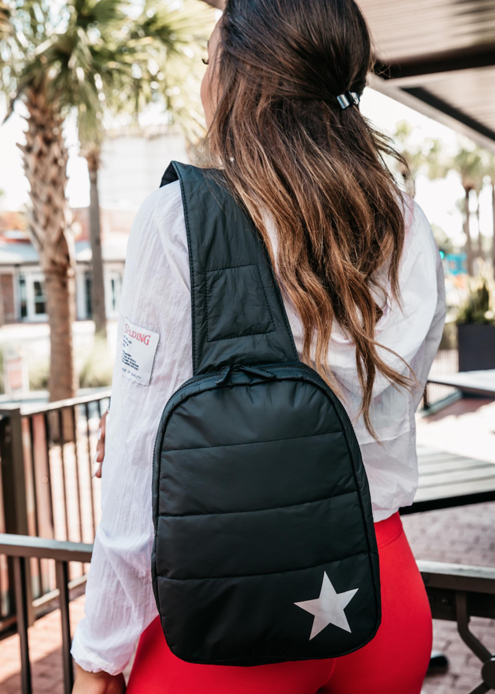 Puffer Crossbody Backpack