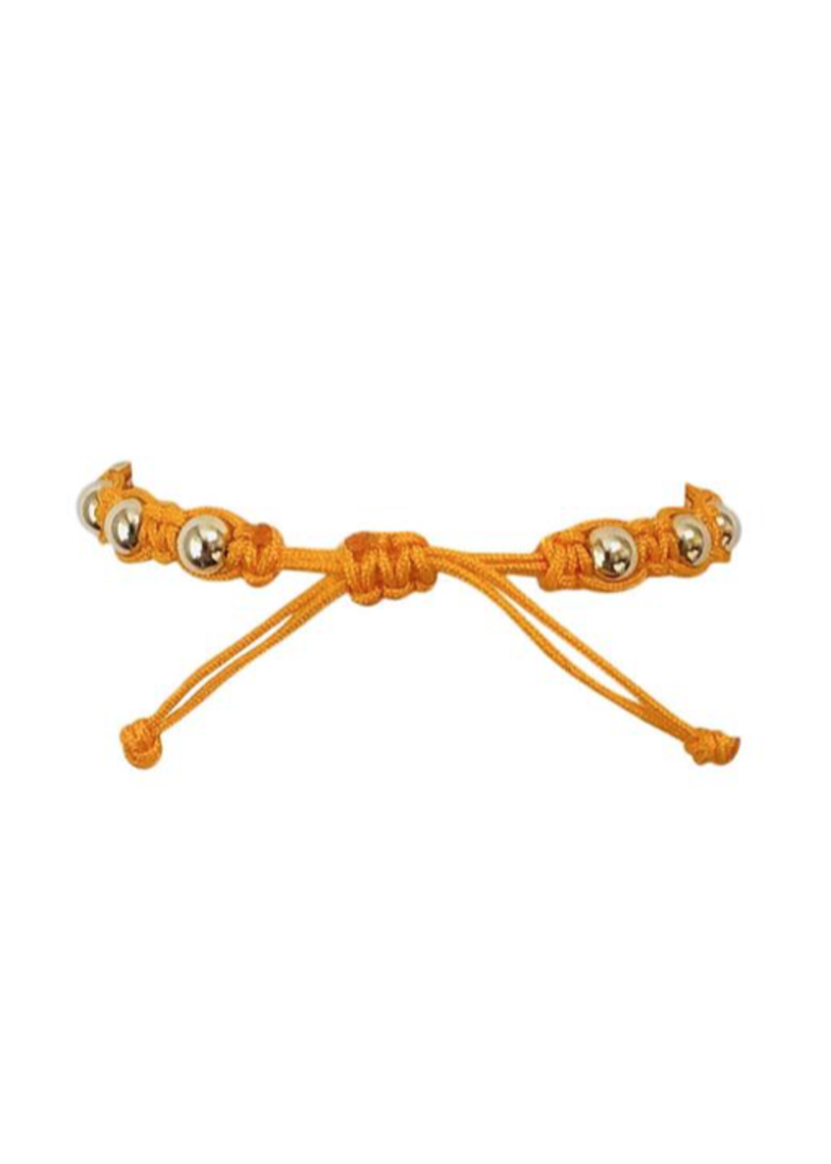 Orange Macrame Bracelet