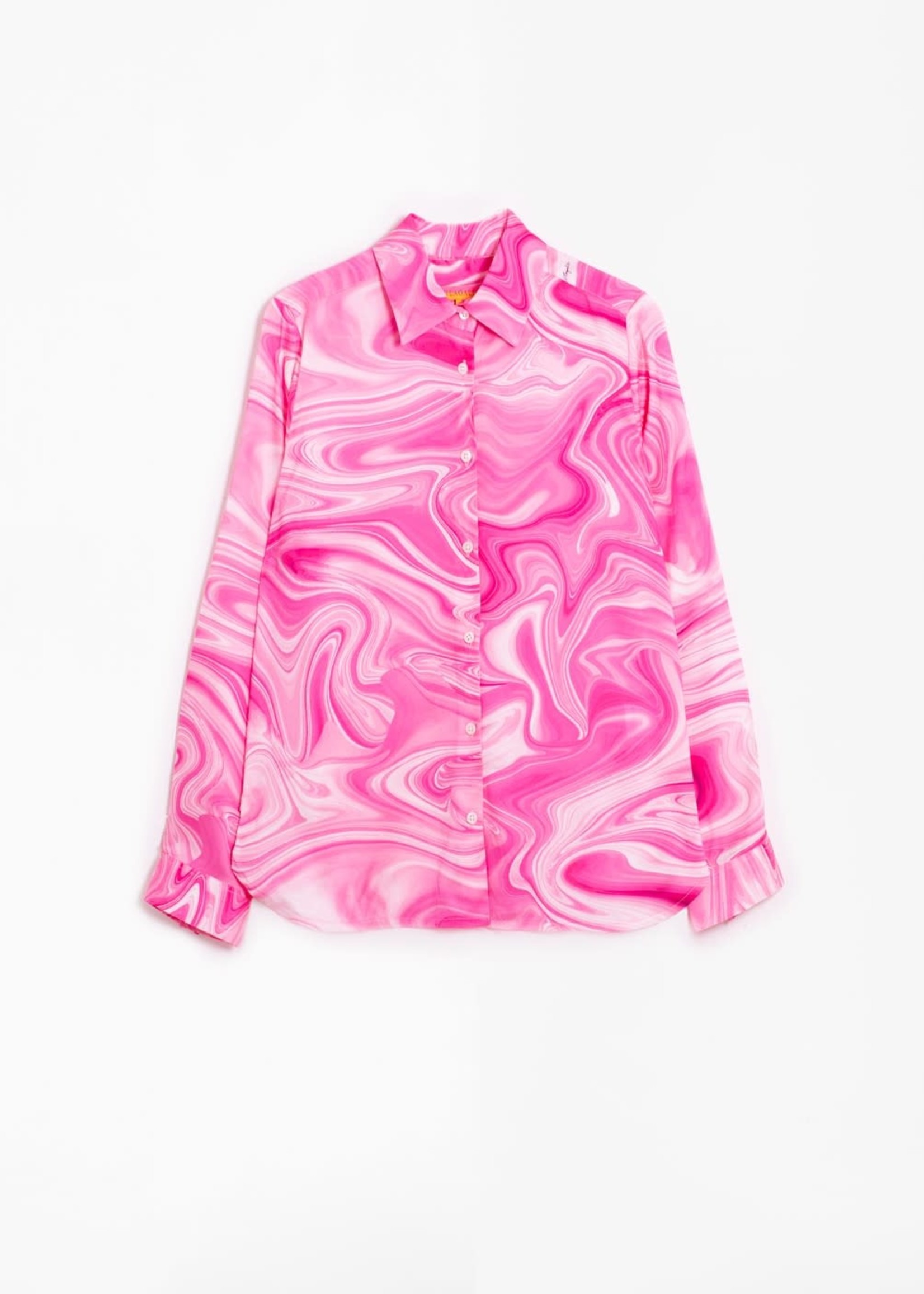 Isabella Button Down Marble