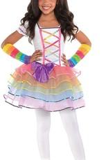 Rainbow Unicorn Girl Costume