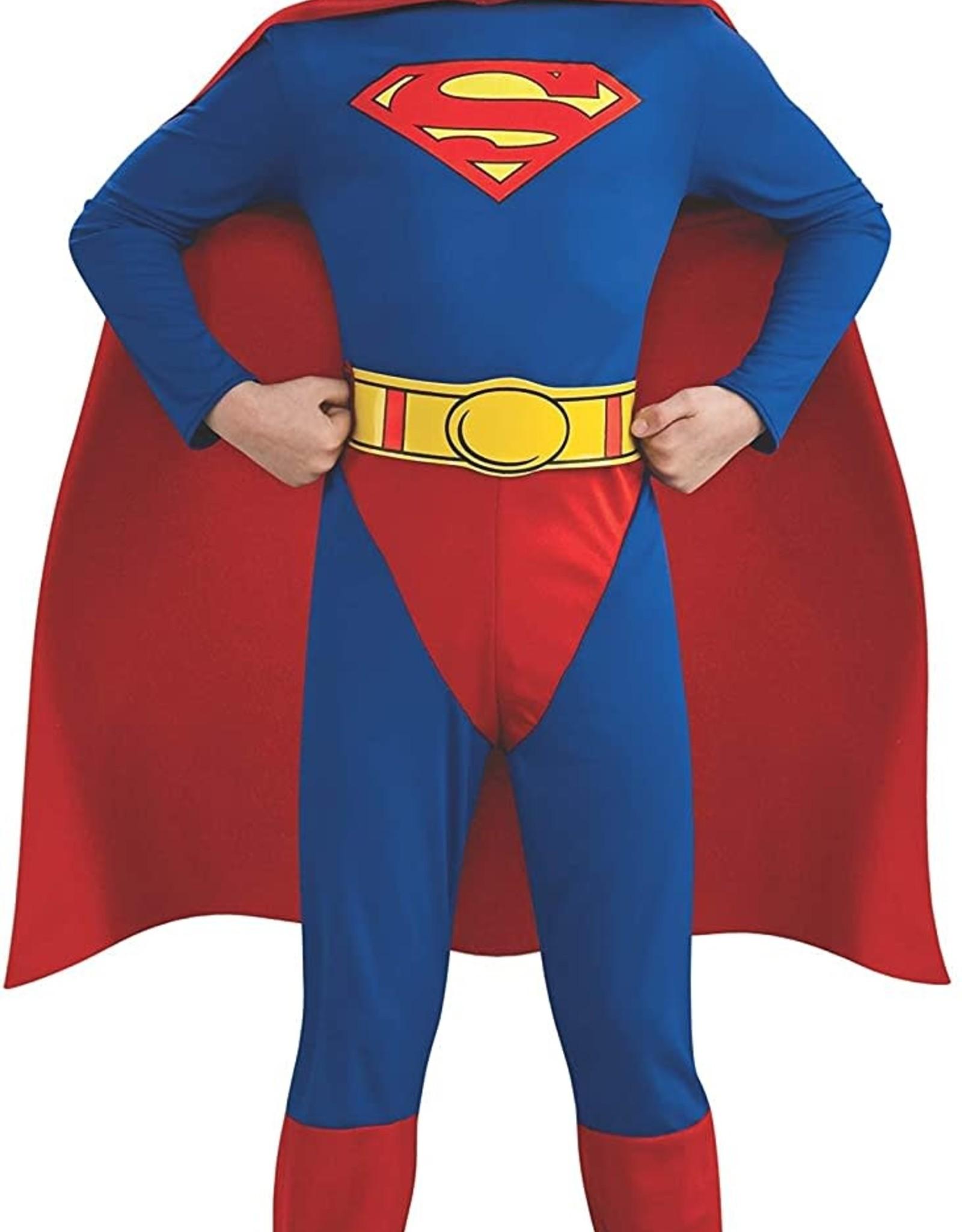 SUPERMAN BODY SUIT COSTUME