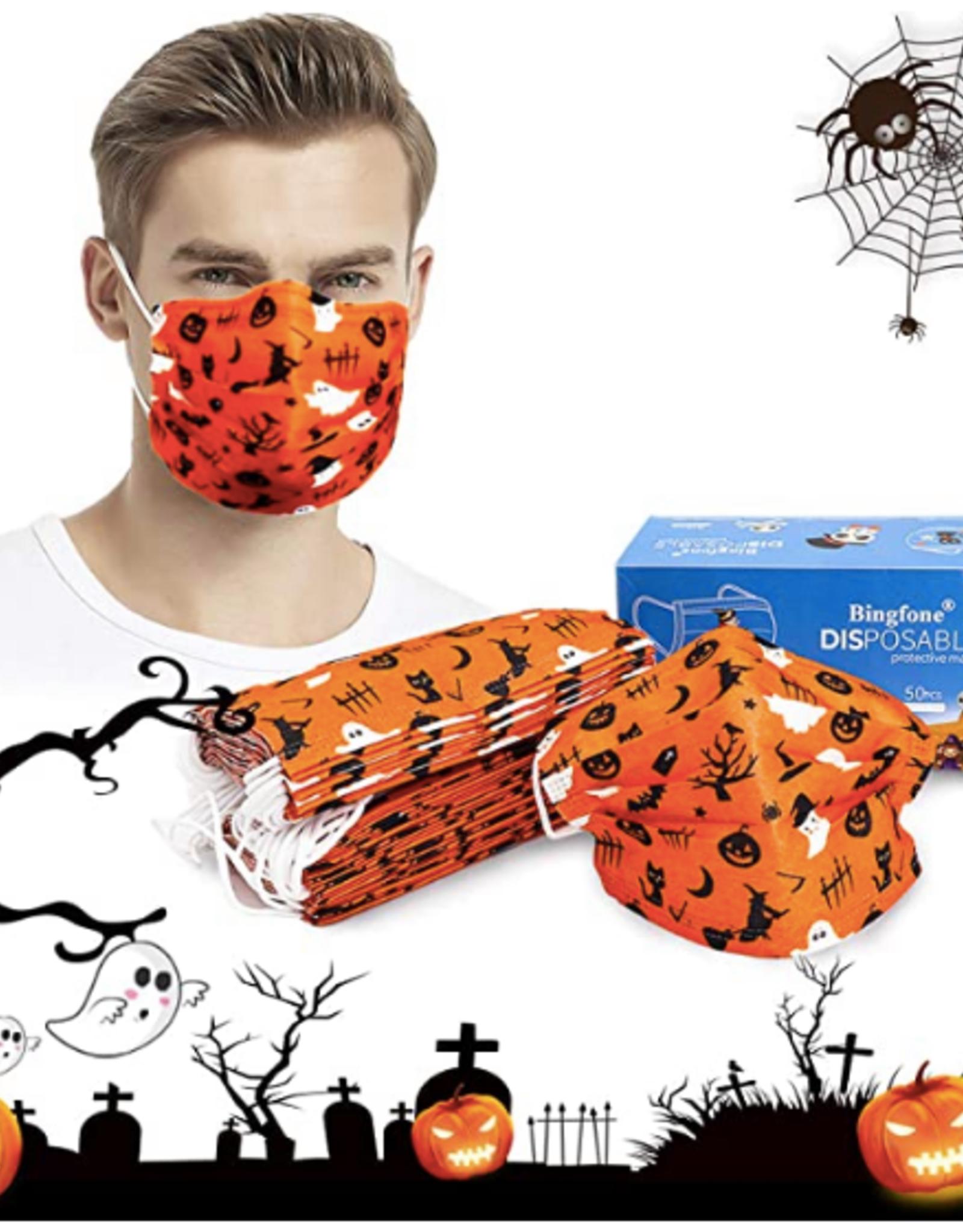 Halloween Disposable Facemasks Bravo