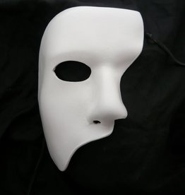 Phantom Costume Mask- White